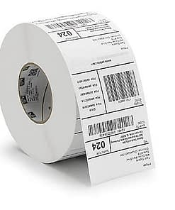 Permanent paper base thermal transfer label