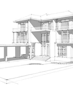 Architectural drawings and floor plans