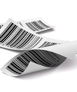 Barcoding label