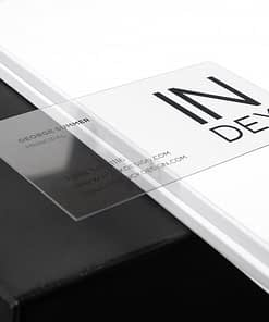 synthetic durable business card