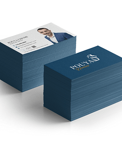 Super thick painted edge business card